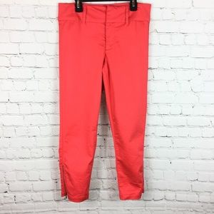 🌵3/ $20🌵Tinsel denim couture coral zip ankle 28